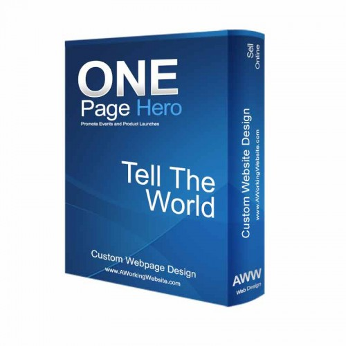 The One Page Hero