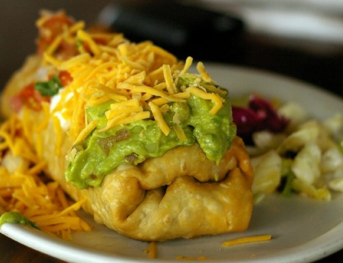 Manuel's Chicken Chimichanga