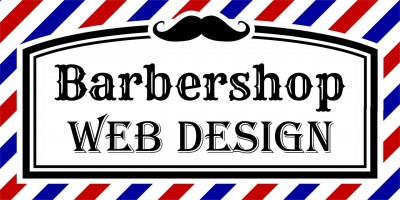 Barbershop Web Design from A Working Website